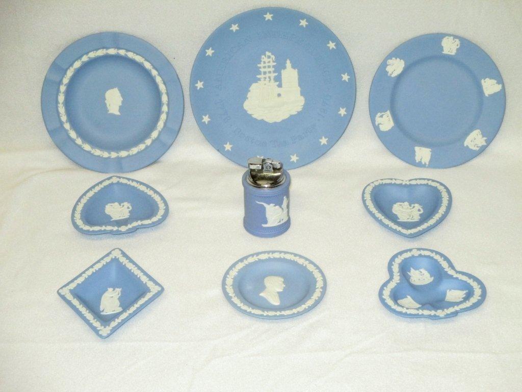 8 Pieces Wedgwood & 1 Piece Jasperware