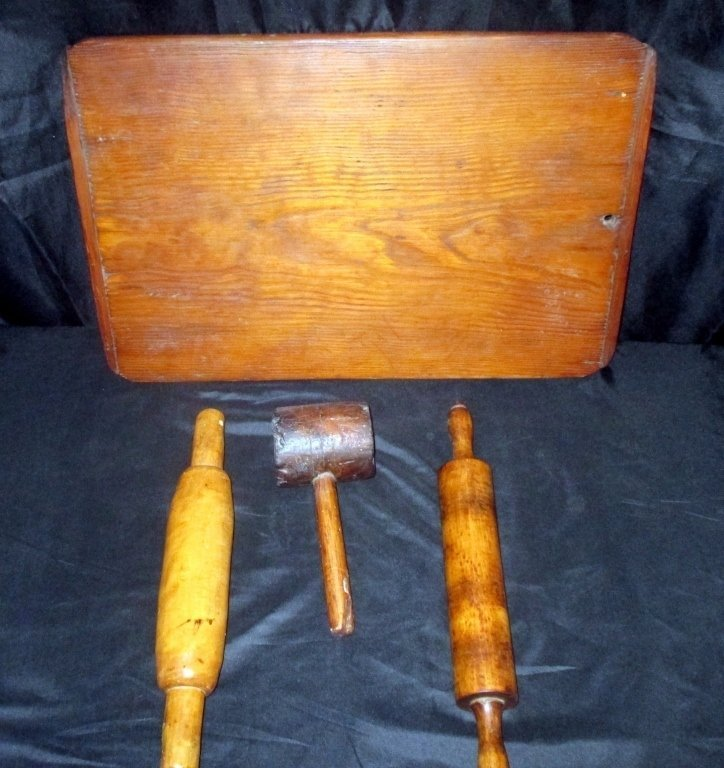 Collection of 4 Early Kitchen Collectibles