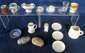 Miniature Ceramic Metal  Glass lot