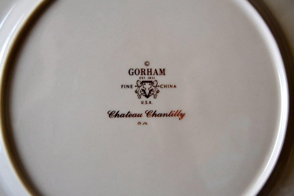 Gorham Chateau Chantilly China - 3