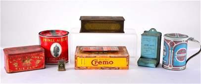 Vintage Tin Plus Lot