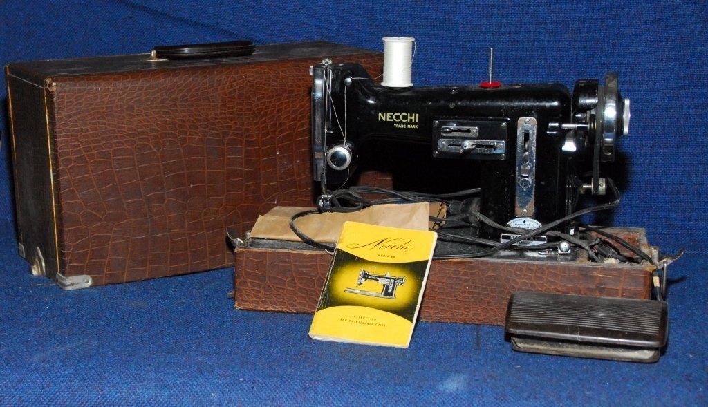 Necchi BU Sewing Machine