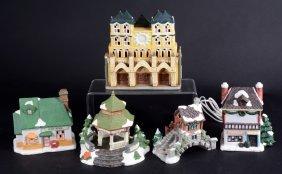 Five Ceramic Christmas Displays