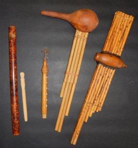 Vintage African Flute & Wind Instruments
