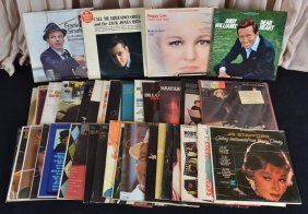 39 Lp's, Inc. 11 Sinatra, 3 Streisand And More