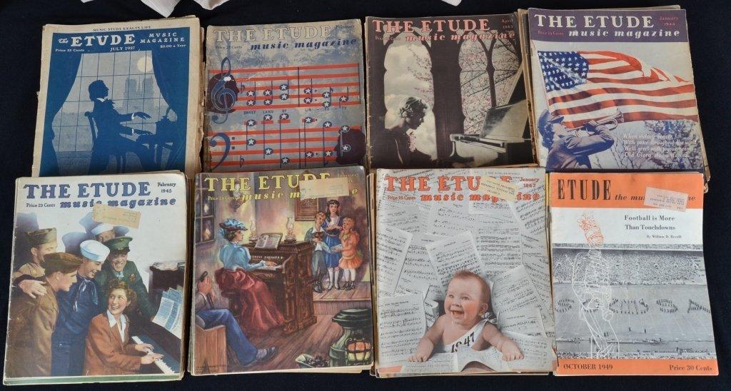 Vintage Etude Music Magazine