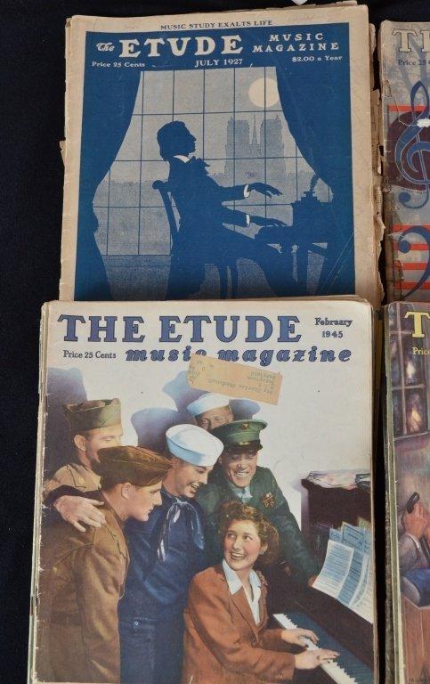 Vintage Etude Music Magazine - 2