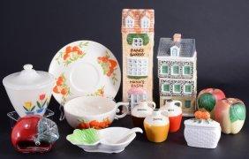 Vintage Kitchen Glass & Ceramics