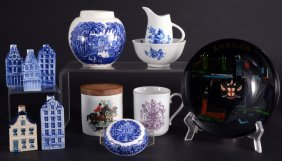 Vintage English & Delft Ceramics Plus Lot
