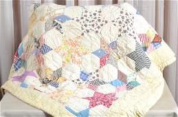 Vintage Handmade Star Quilt