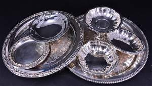Vintage Silverplate Lot, Seven Pieces