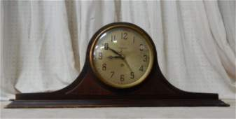 Hammond Napoleon Hat Electric Mantle Clock