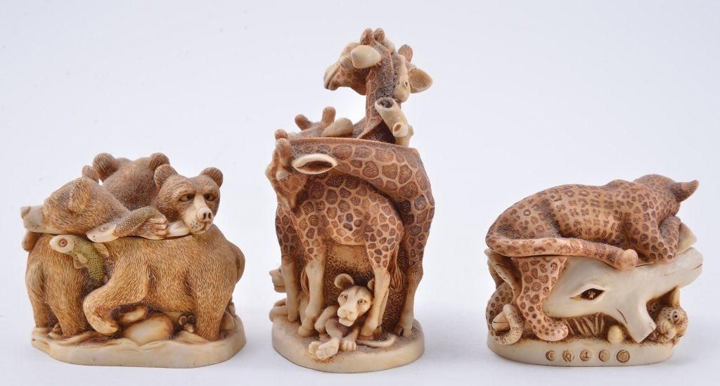Harmony Kingdom Animal Trinket Boxes - 4