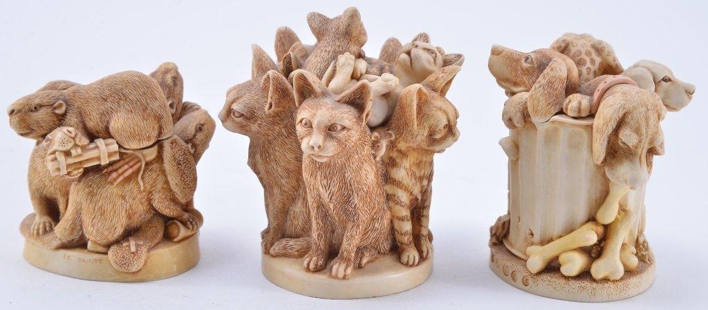 Harmony Kingdom Animal Trinket Boxes