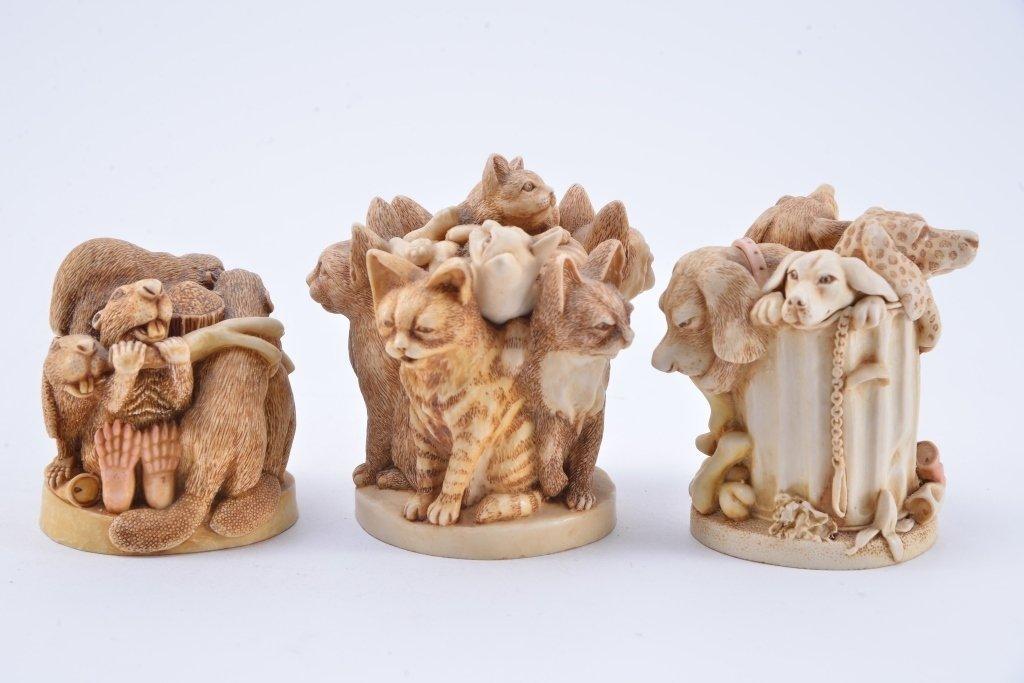 Harmony Kingdom Animal Trinket Boxes - 2