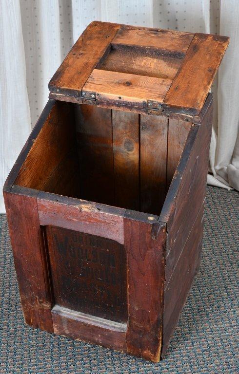 Woolson's Spice Roasted Coffee Slant Lid Box - 3