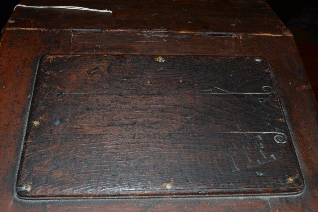 Woolson's Spice Roasted Coffee Slant Lid Box - 4