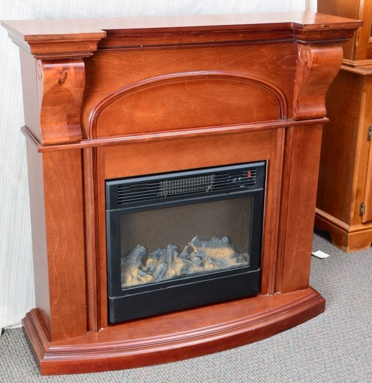 Electric Fireplace - 2
