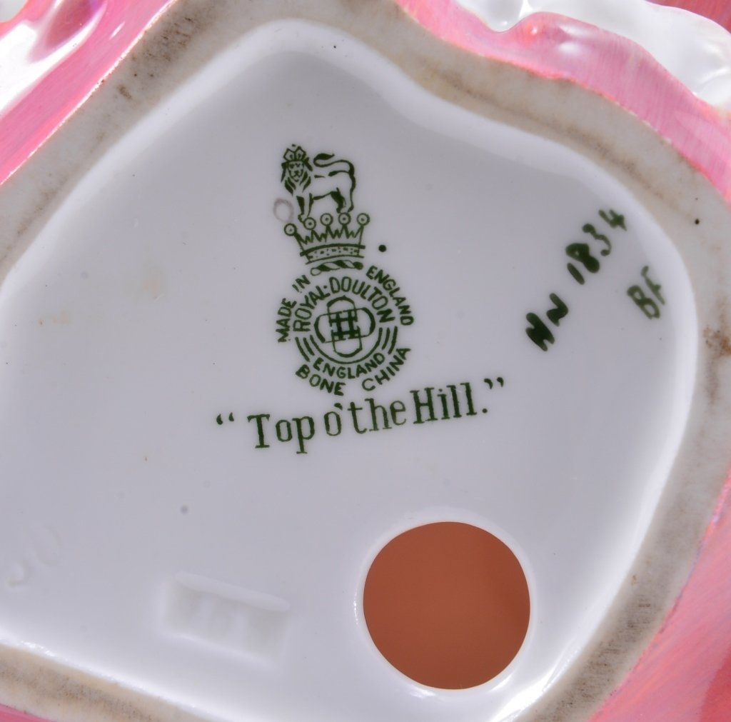 Royal Doulton Top O' The Hill HN1834 - 5