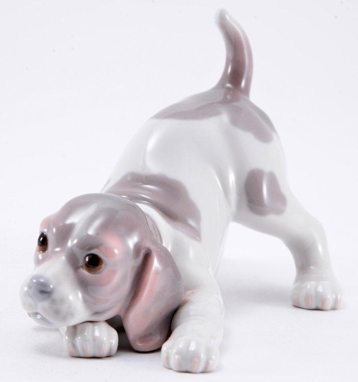 Lladro Beagle Puppy 1070 - 2