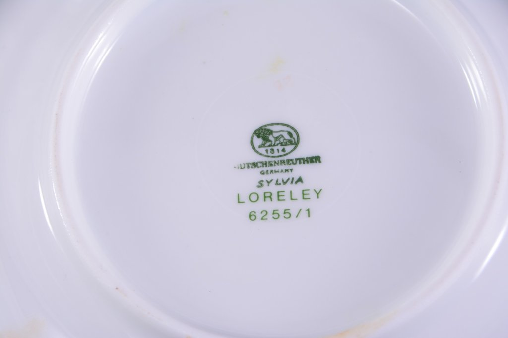 19 Pieces Hutschenreuther Loreley China - 4