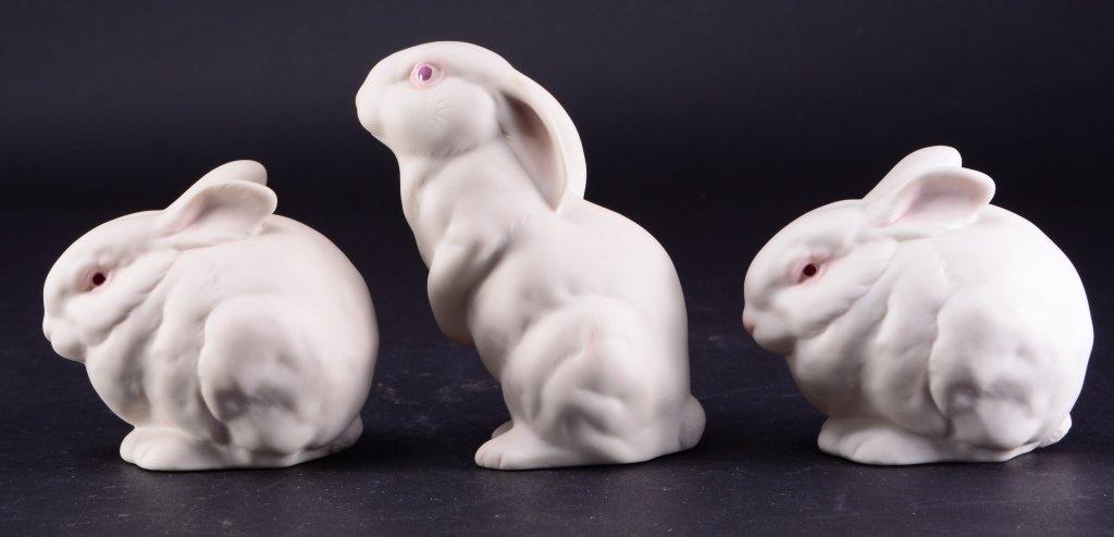Three Cybis Rabbits - 3