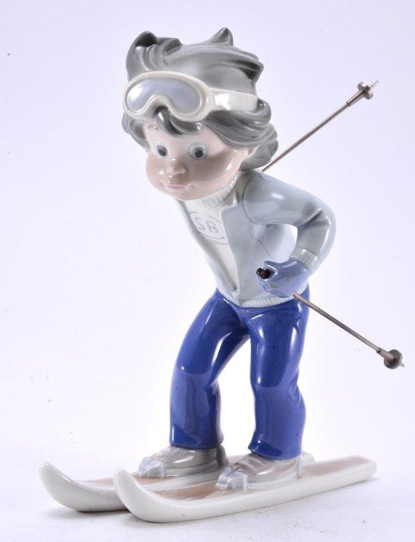 Lladro Billy, The Skier 5136