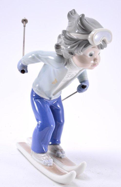 Lladro Billy, The Skier 5136 - 3