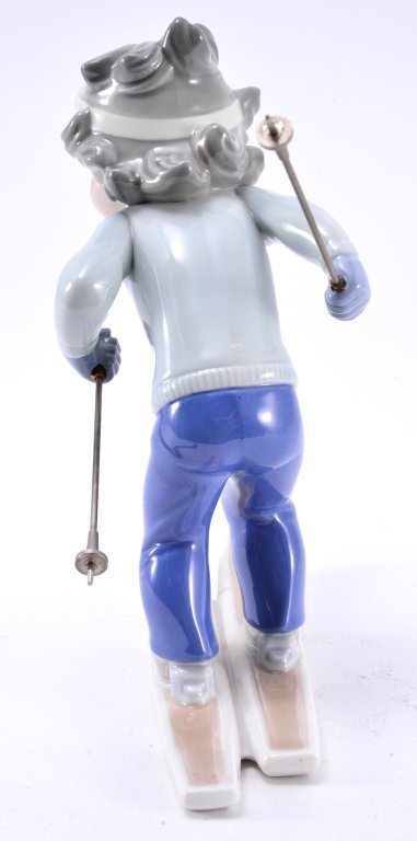 Lladro Billy, The Skier 5136 - 4