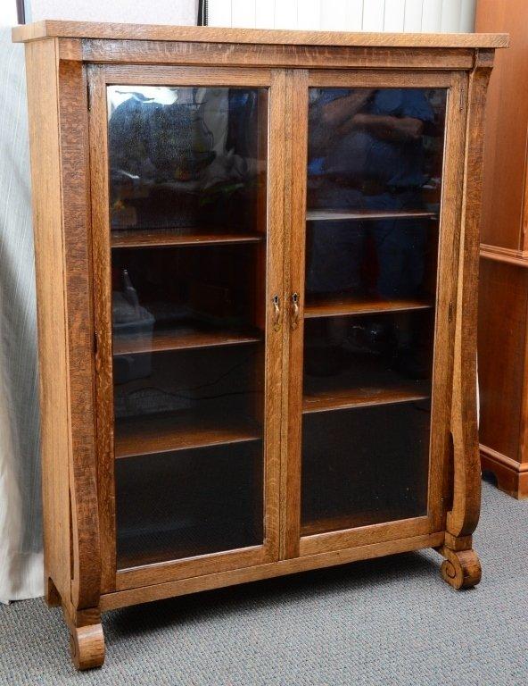 Empire Bookcase w/Wood Shelves