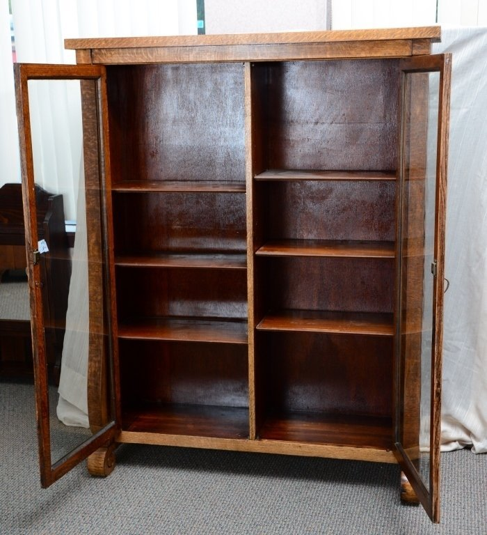 Empire Bookcase w/Wood Shelves - 2