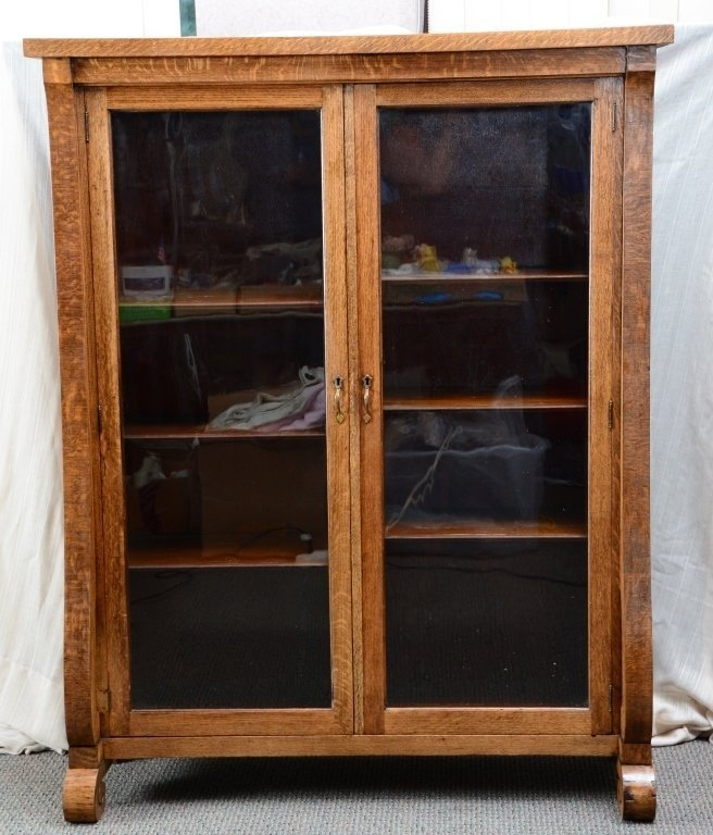 Empire Bookcase w/Wood Shelves - 3