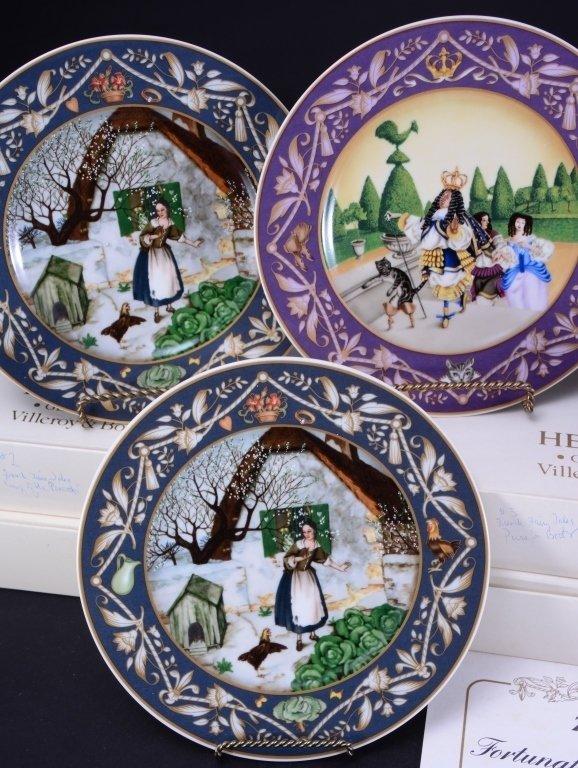 Villeroy & Boch French Fairy Tale Plates - 2