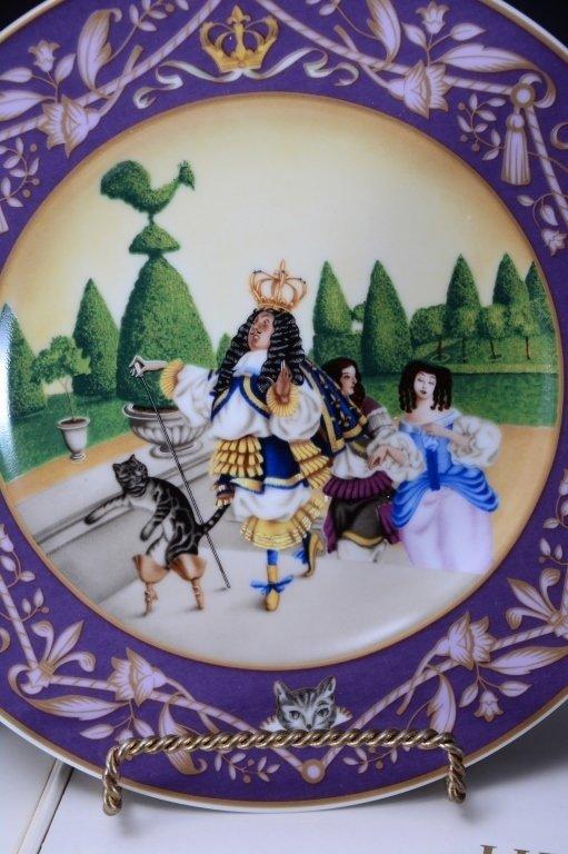 Villeroy & Boch French Fairy Tale Plates - 5