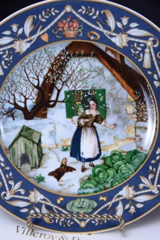 Villeroy & Boch French Fairy Tale Plates - 6