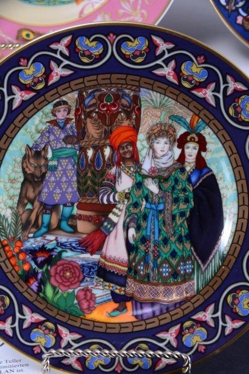 Villeroy & Boch French Fairy Tale Plates - 7