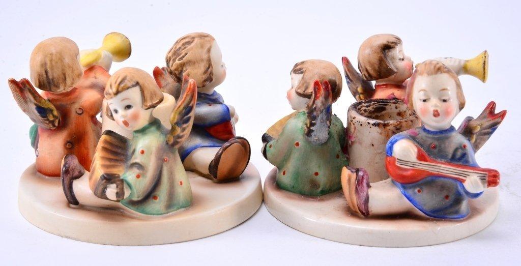Hummel Herald Angel Candle Holders 37, TMK 1, 2