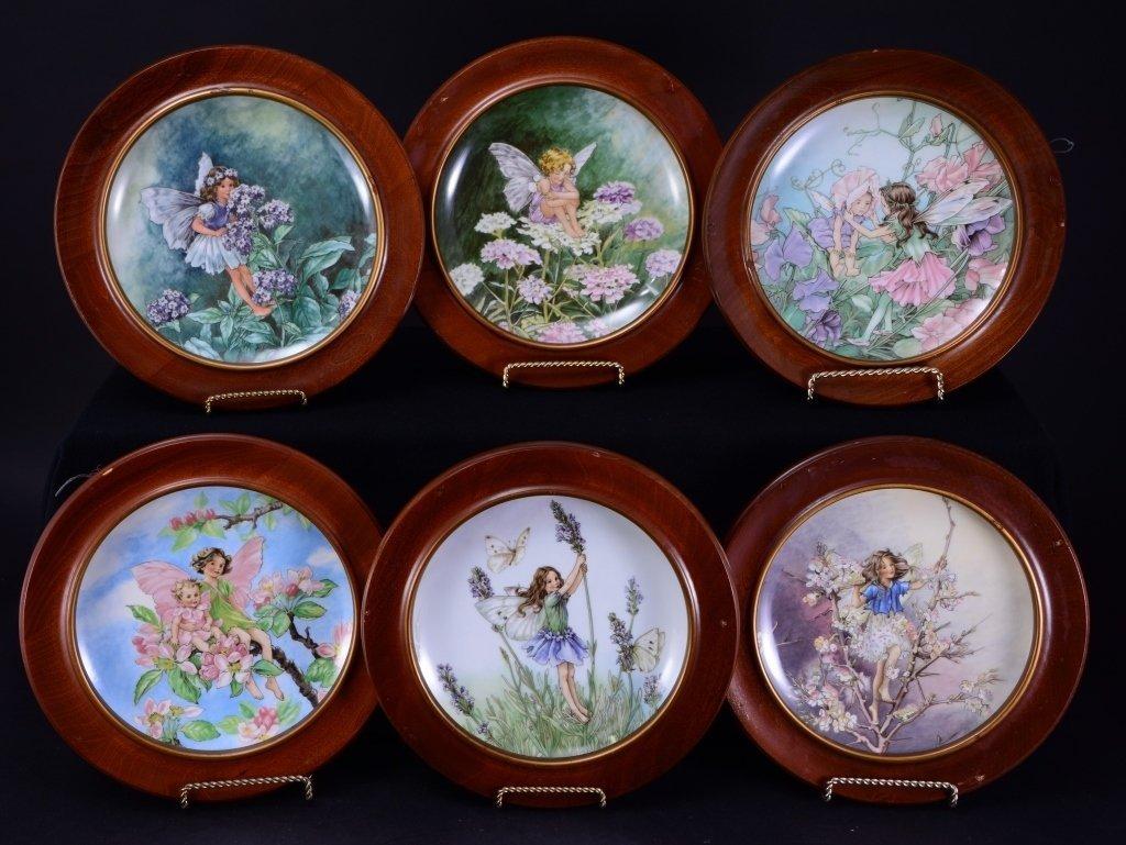 Villeroy & Boch Heinrich 6 Fairies Plates In Wood