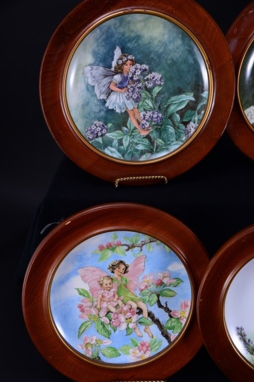Villeroy & Boch Heinrich 6 Fairies Plates In Wood - 2