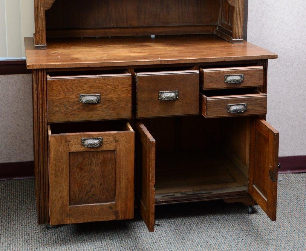 Kitchen Hutch & Cabinet - 2