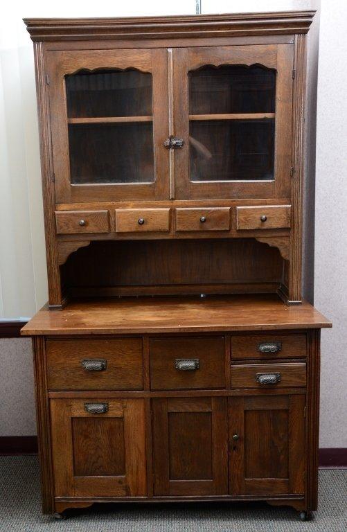 Kitchen Hutch & Cabinet - 3