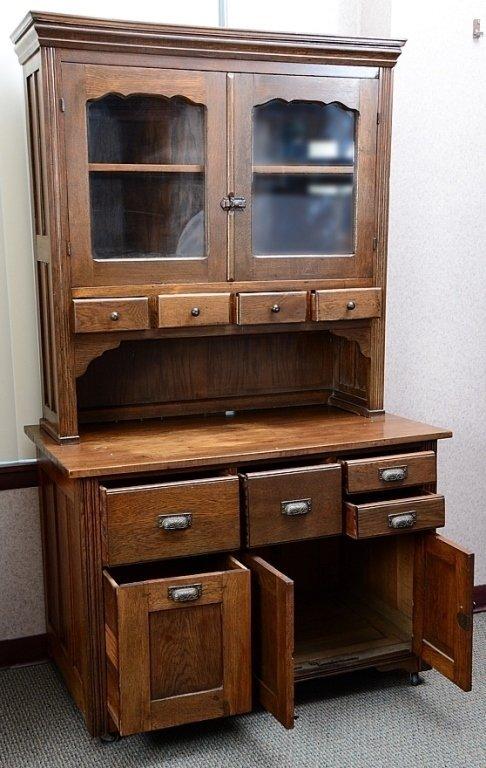 Kitchen Hutch & Cabinet - 4