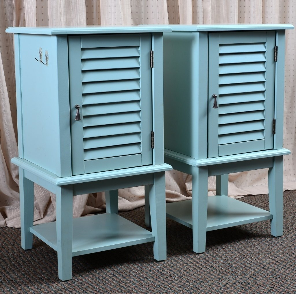 Pair End Cabinets