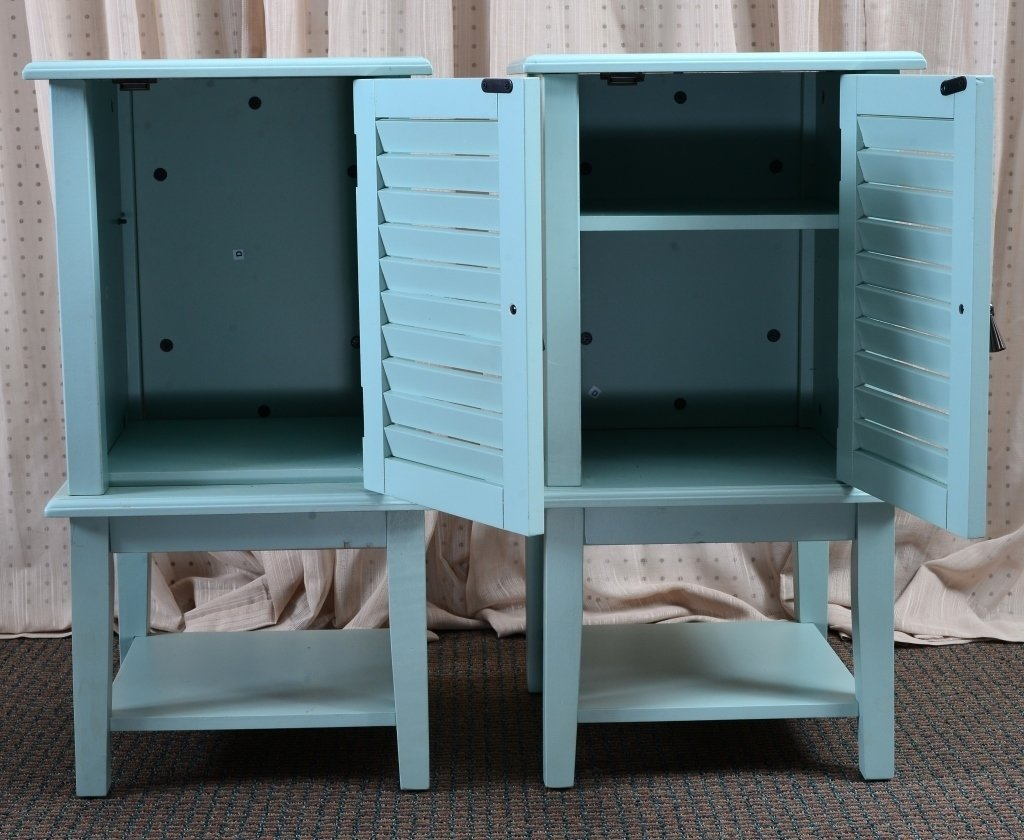 Pair End Cabinets - 2