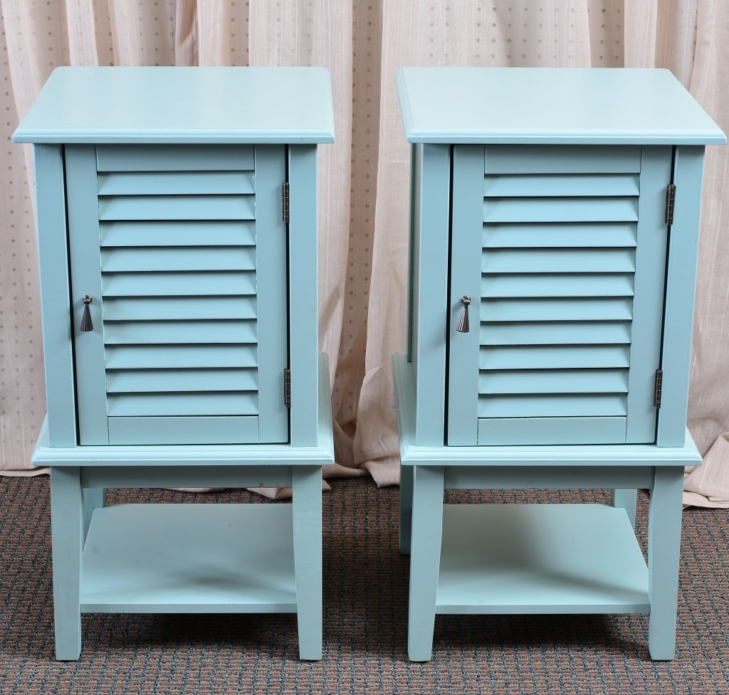 Pair End Cabinets - 3