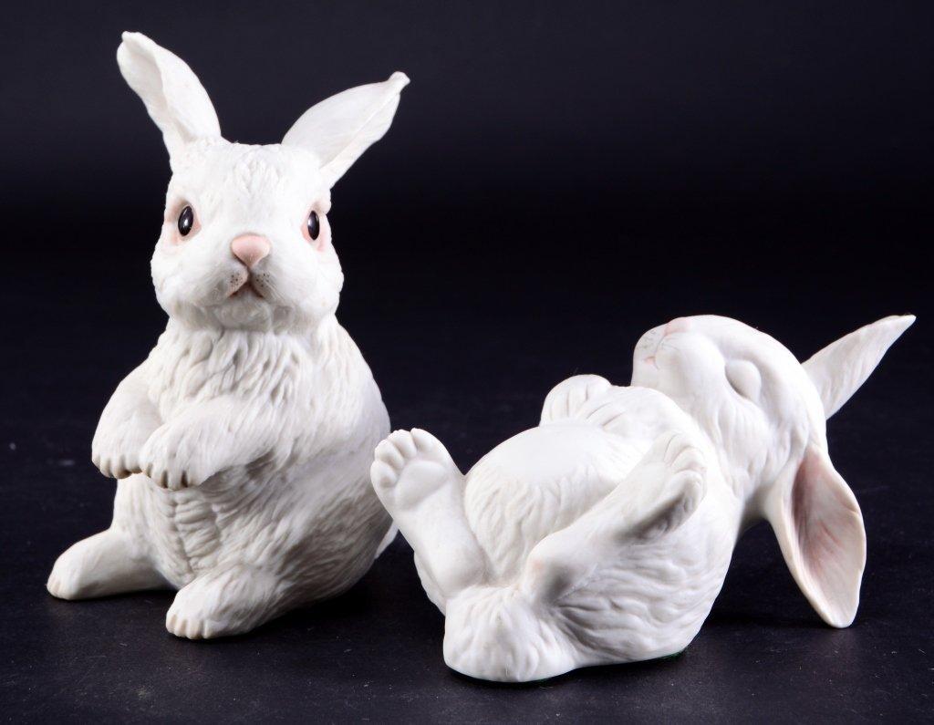 Two Boehm Rabbits - 2