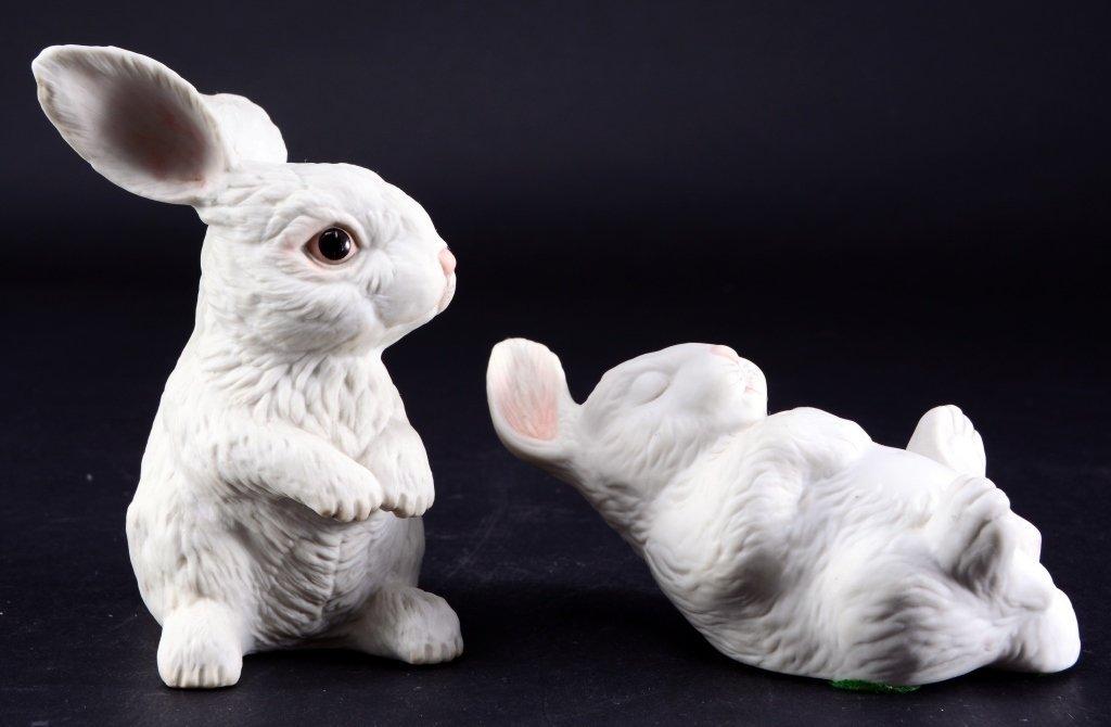 Two Boehm Rabbits - 3