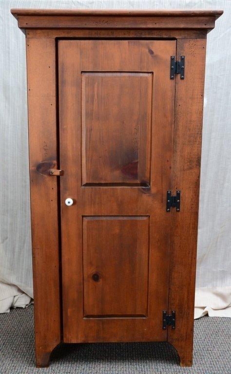 Pine One Door Cabinet - 2