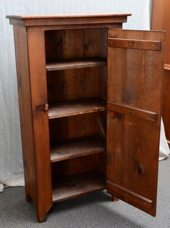 Pine One Door Cabinet - 3