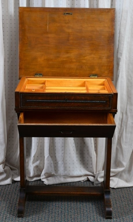 Victorian Sewing Cabinet - 2